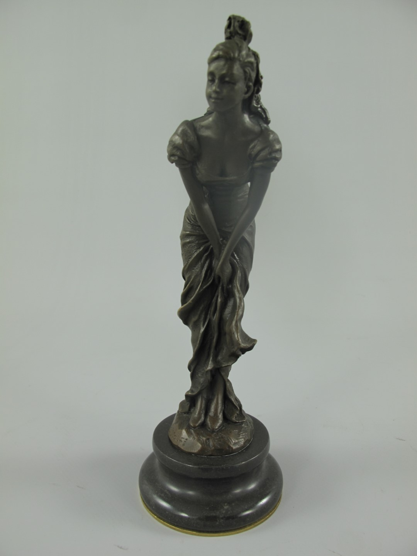 Figur Bronze FRAU H.22x8cm   Figuren Bronze   Bronzen