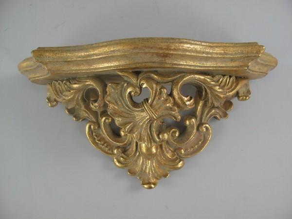 Konsol Polystein GOLD farbig L.34x17cm