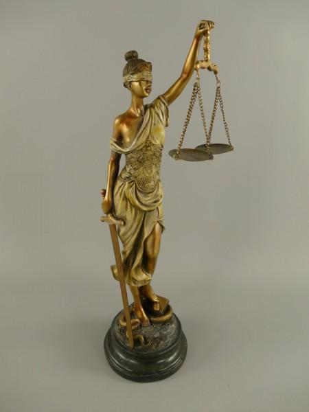 Justitia Polystein farbig H.53x18cm