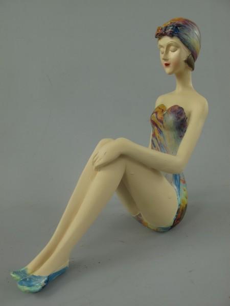 Badepuppe Polystein farbe L.19x20cm