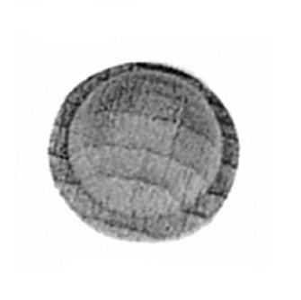 Schrankrosette D.18mm Buche