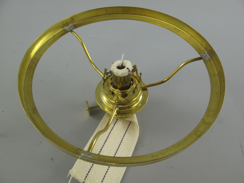 Petroleum Leuchten Schirmreifen 235mm mit Korb 14/'/'/' Lampen Ring Vintage