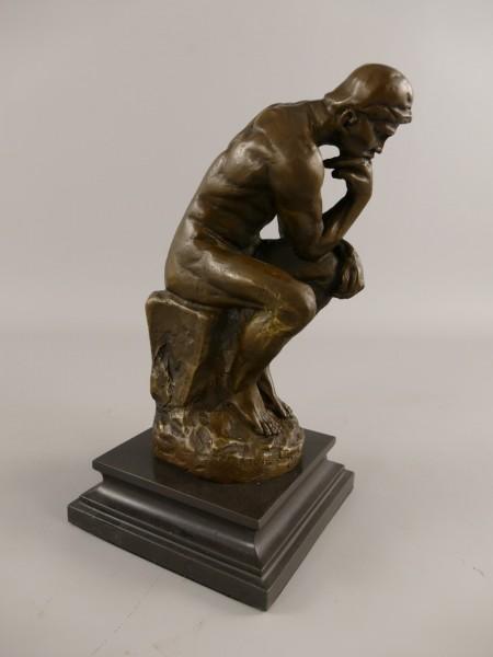 Figur Bronze DENKER H.26x13cm