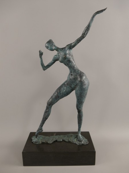 Figur Bronze Frau H.51x30cm