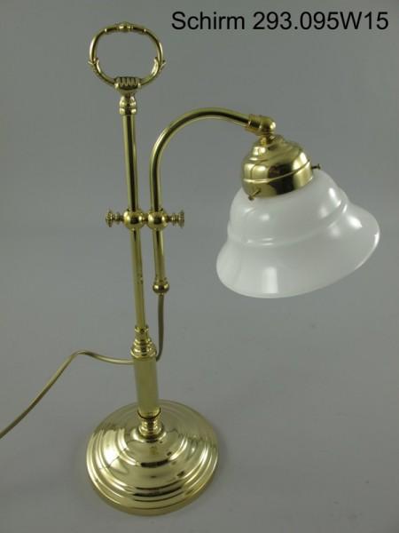 Lampe Messing Schirm(293.095W15) H.50cm