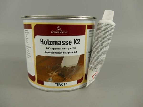 *NT Borma Holzmasse K2-750ml. TEAK!! Holz