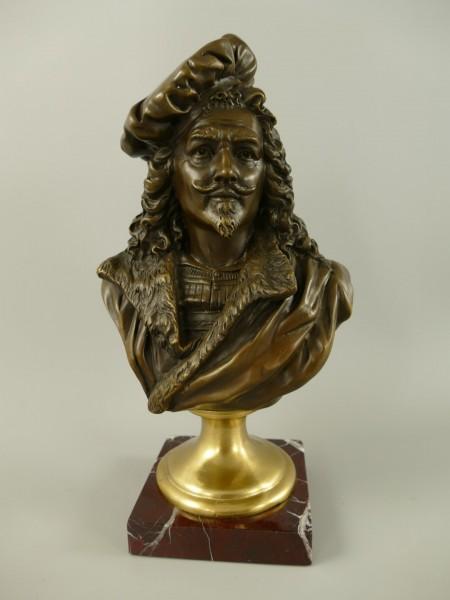 Figur Bronze Rembrandt H.29x16cm