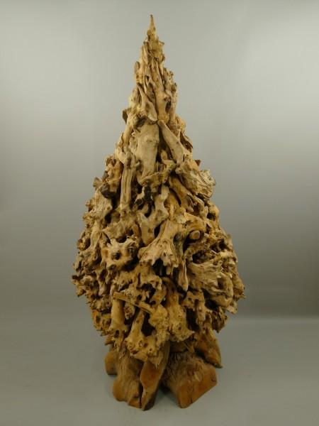 *NT Deko Weinachtsbaum Teak Holz H.160cm