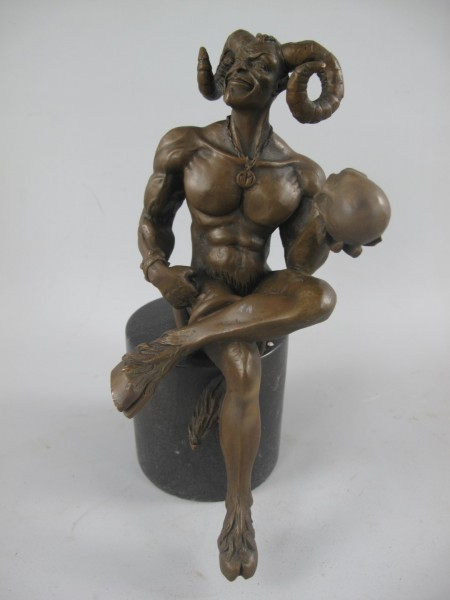 Bronze Figur NARREN H.25x10cm