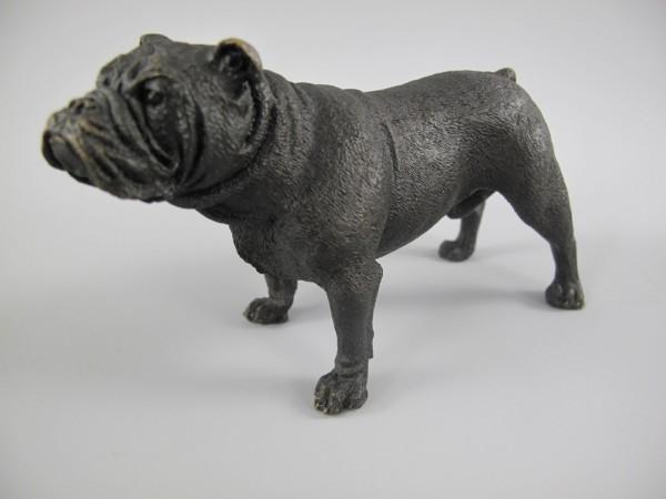 Figur Bronze Hund L.13x8cm