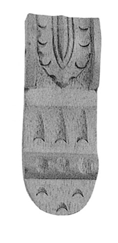 Möbelschnecke Linde 45x125mm