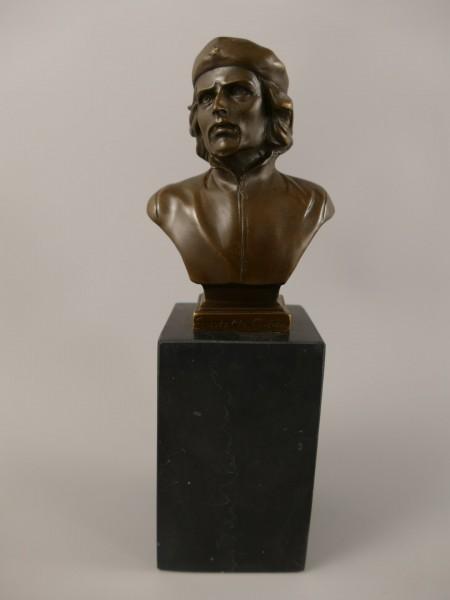 Bronze Figur Büste H.22x8cm