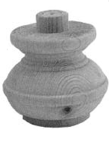 Möbelfüße Tanne D.110-H.90mm