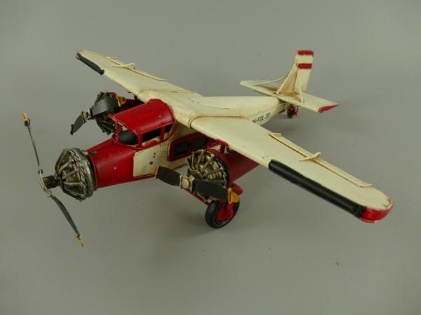 Flugzeug Antik Eisen L.32x10x33cm