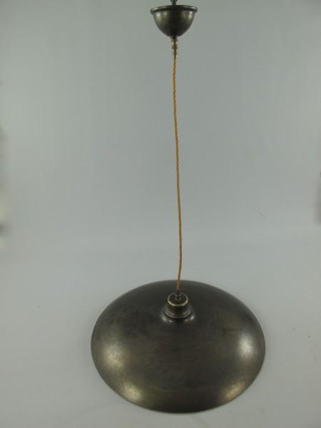 Gehänge(Stofkabel) Mess. brün. Schirm-D.50-H.130cm