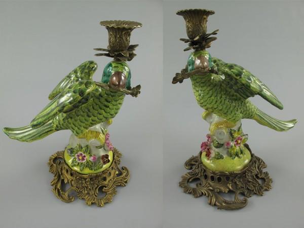 Porzellanvogel L/R Set/2 H.29x25cm SET!!