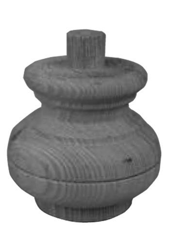 Möbelfüße Tanne D.80-H.85mm