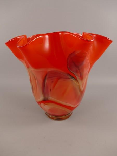 Glas Vase farbe L.38x35cm