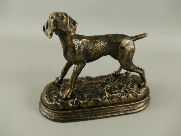 Hund rustikal Eisen L.21x17cm