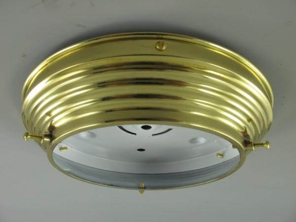*RAUS-50% Deckenhalter Messing Gh.35-D.42cm