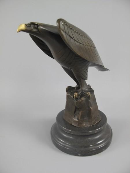 Figur Bronze ADLER H.21x22cm