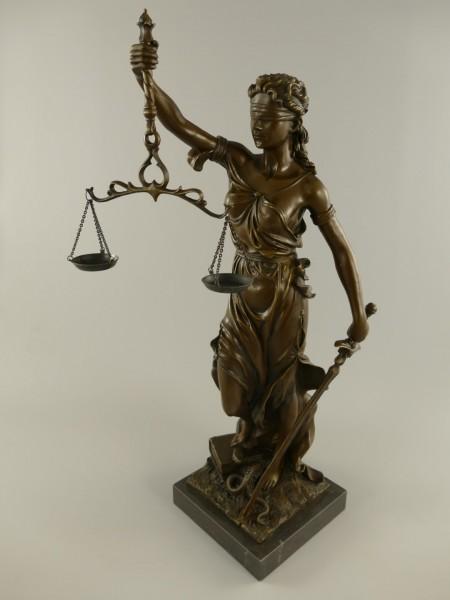 Justitia Bronze H.75x25cm