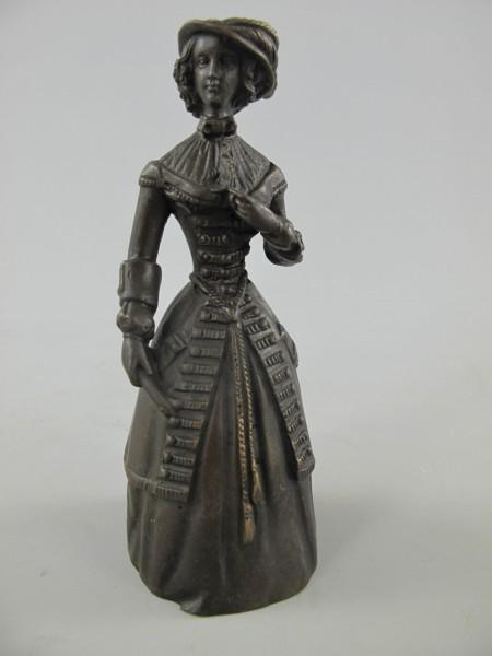 Tischglocke LADY Bronze!!! H.14x6cm