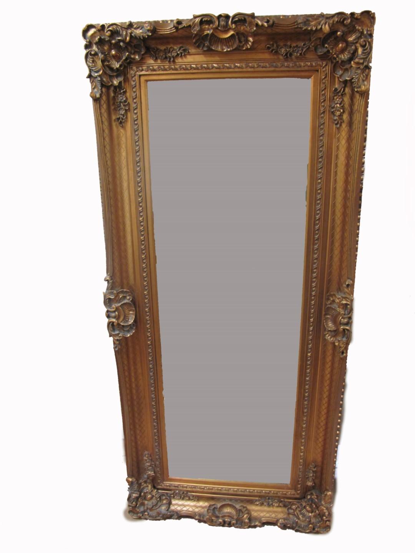 Nt spiegel geschliffen gold 60x120cm spiegelmass spiegel spiegel gem lde bilderahmen - Dekoration spiegel ...