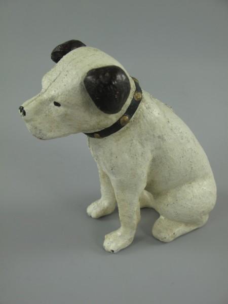 Hund Eisen farbig H.10x10cm