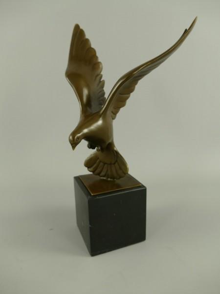 Figur Bronze Vogel H.31x13cm