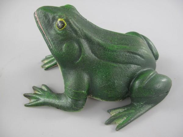 Frosch Antik Eisen L.18x16cm