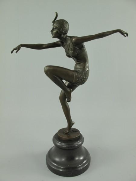 Figur Bronze BALERINA H.38x25cm