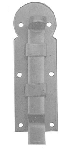 Schubriegel gekröpft Eisen L.80mm