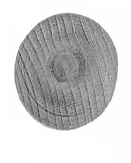 Schrankrosette D.40mm Buche