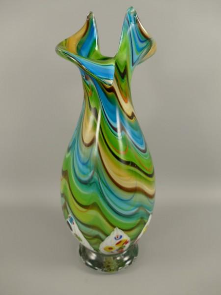 Vase Murano styl H.51x20cm