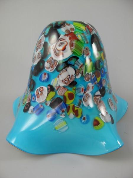 Lampenschirm Glas farbe H.25cm