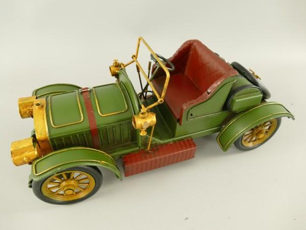 Auto grün Antik Eisen L.35cm