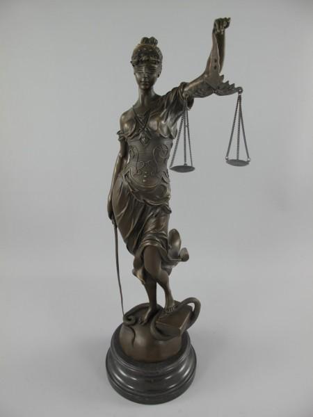 Justitia Bronze H.65x27cm
