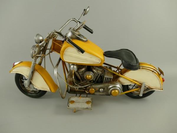 *ANG./JUNI Motor Antik Eisen L.58x33cm