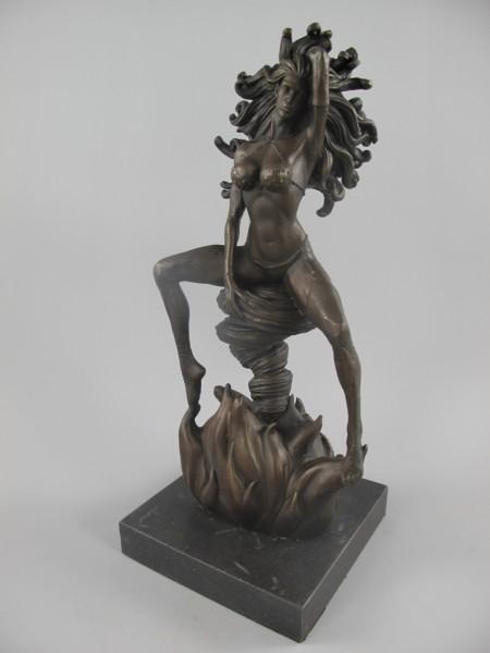 Bronze Figur FRAU H.33x15cm